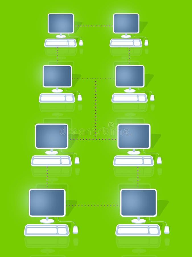 sieci ilustracja wektor