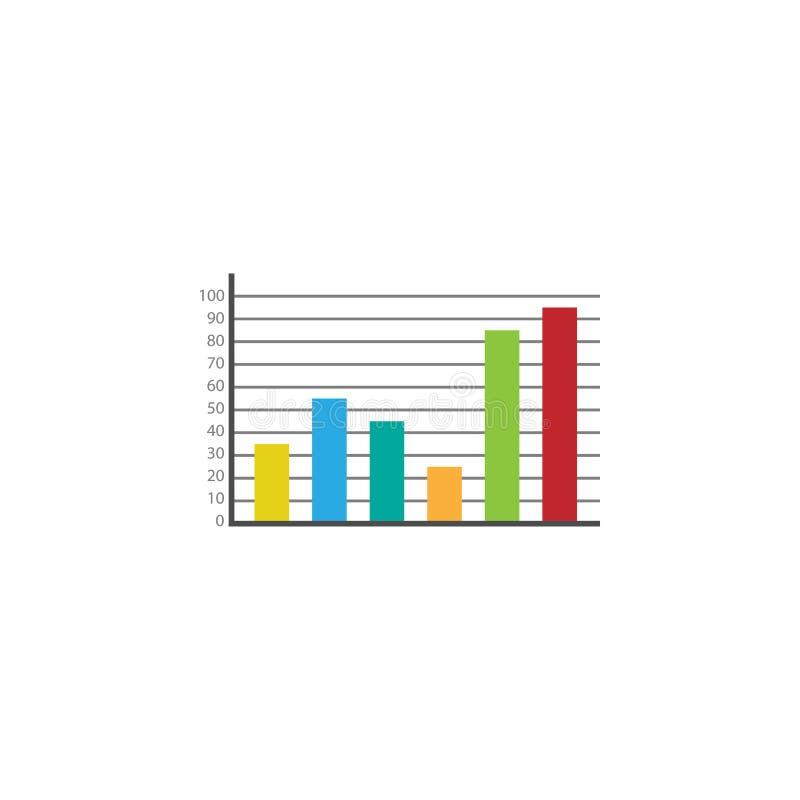 Sieci analityka mieszkania marketingowa ikona royalty ilustracja