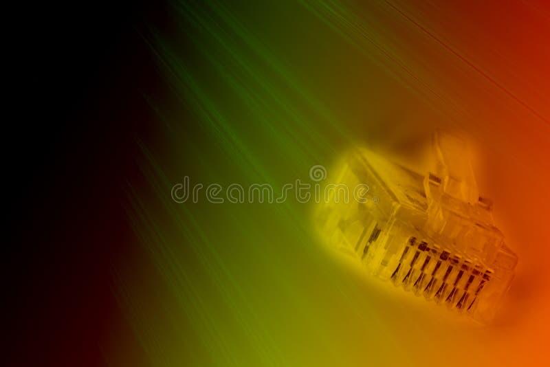 sieci gniazdko wtyczkowe zdjęcie stock