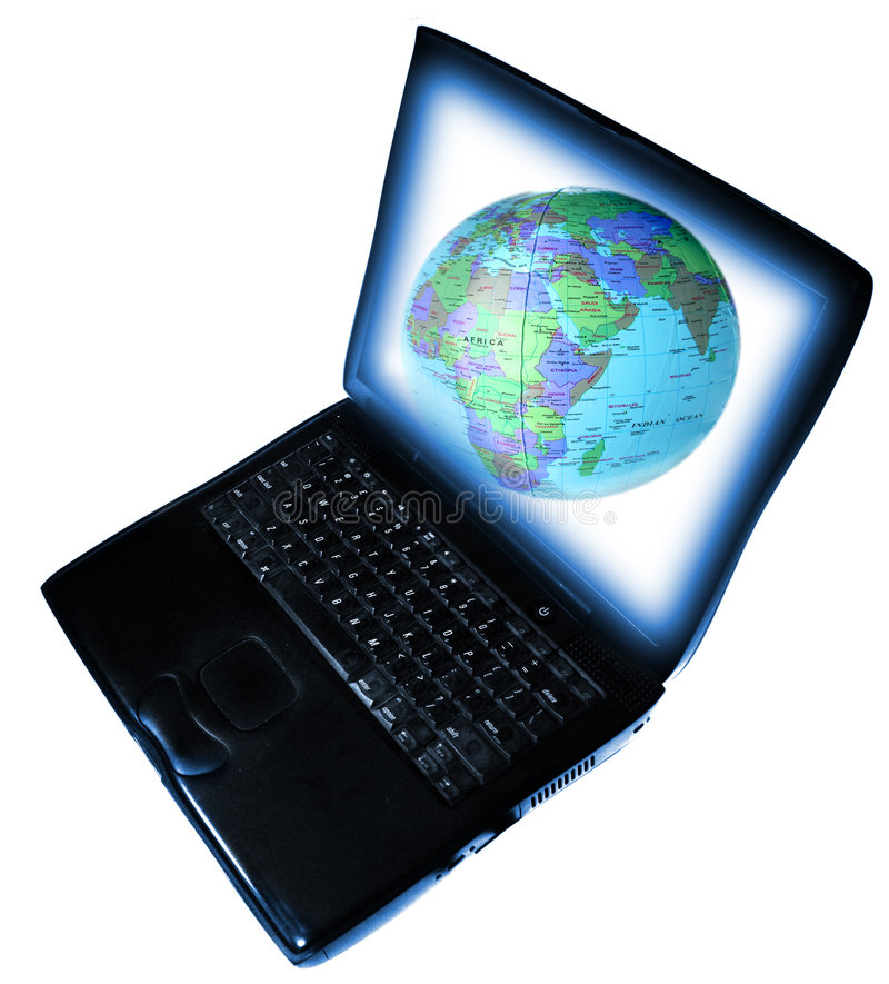 sieci komunikacyjnej szeroki świat zdjęcie stock
