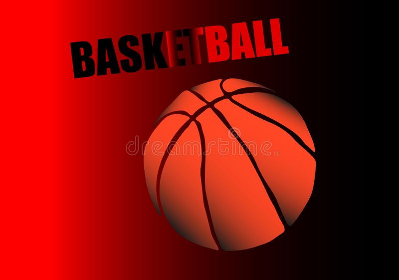 Sieci koszykówki turniej r?wnie? zwr?ci? corel ilustracji wektora ilustracja wektor