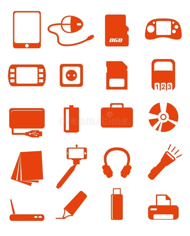 Sieci medialne ikony ustawiać ilustracja wektor