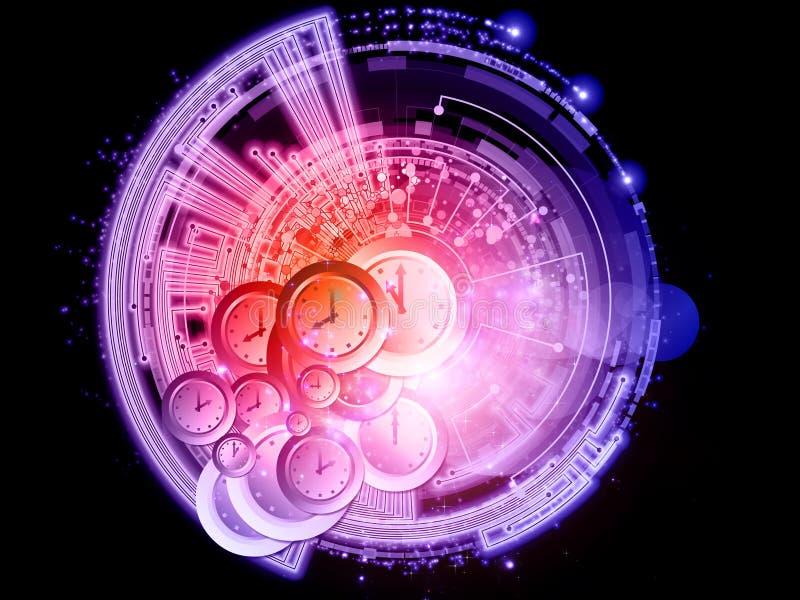 sieci radial ilustracji