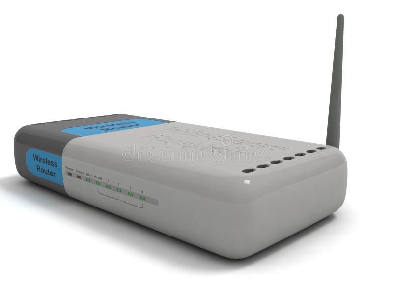 sieci routera radio ilustracji
