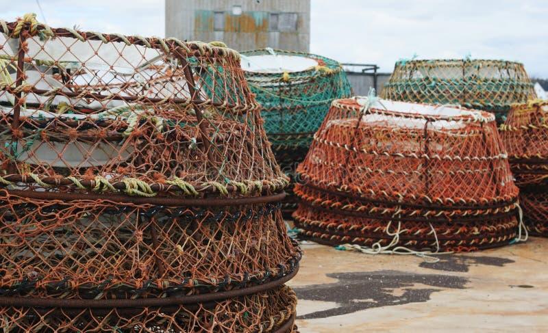 sieci rybackich fotografia royalty free