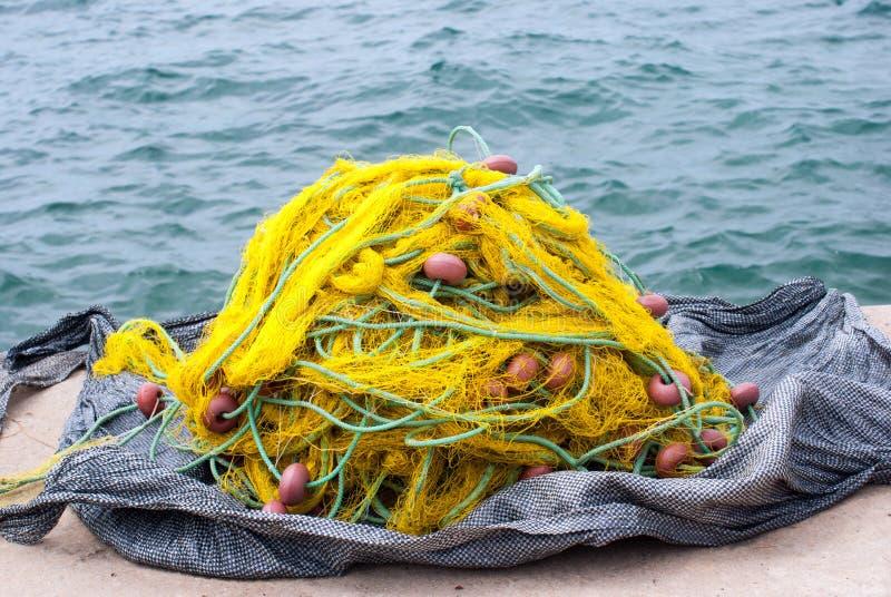 Sieci rybackie  zdjęcie royalty free