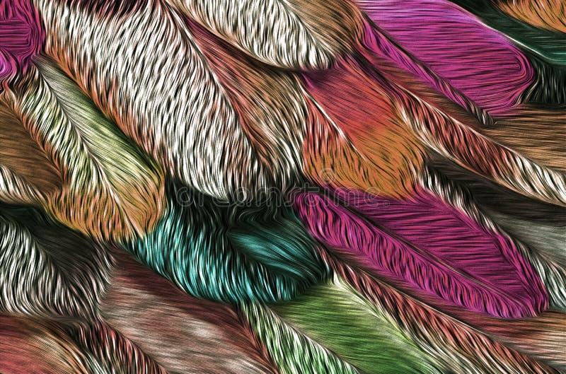 Sieci tło, tekstury, tapety ilustracja wektor