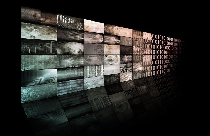 Sieci technologie ilustracja wektor
