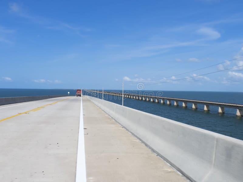 Siedem mil most Key West, zdjęcia stock