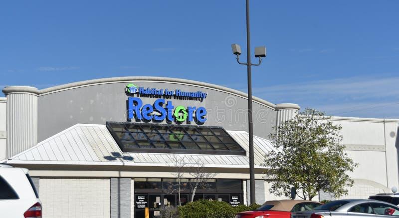 Siedlisko dla ludzkości przywrócić, Memphis, TN obrazy stock
