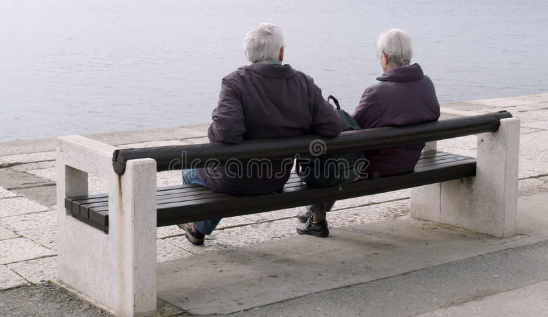 Download Siedząc cicho zdjęcie stock. Obraz złożonej z morze, retired - 27196