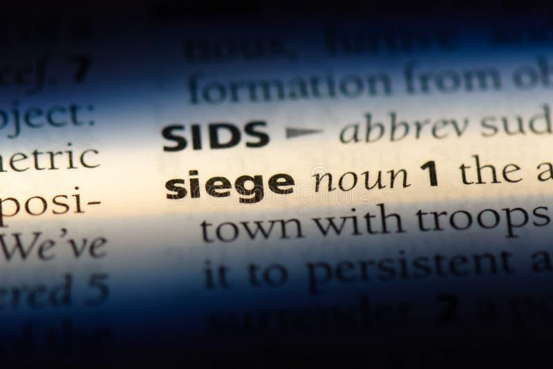 siege arkivfoto