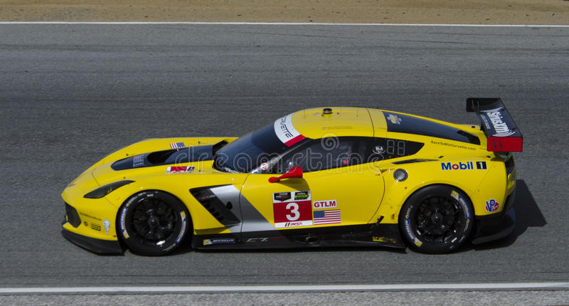 Sieger Chevy Corvettes GT Le Mans stockfotografie