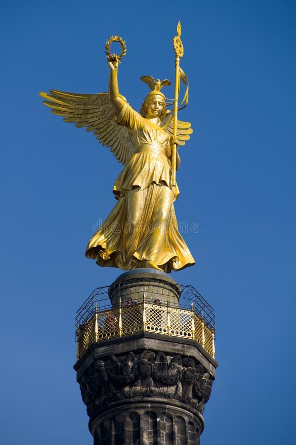 Siegessaeule de Berlim imagens de stock