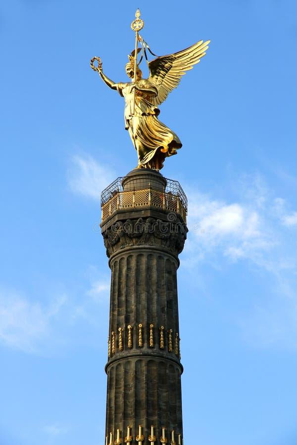 Siegessaule in Berlijn royalty-vrije stock fotografie