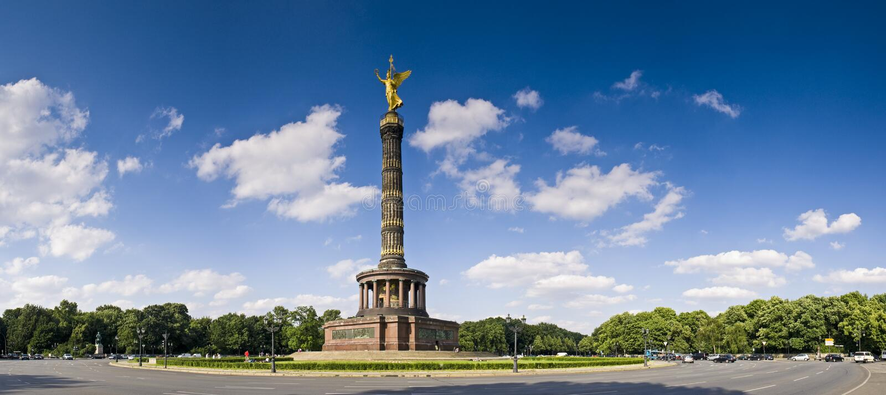 Siegessaule, Berlin lizenzfreies stockfoto