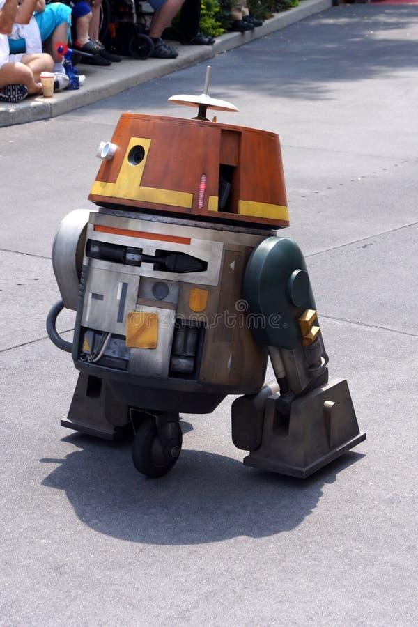 Siekacz od nowych serii Star Wars Buntuje się przy St obraz stock
