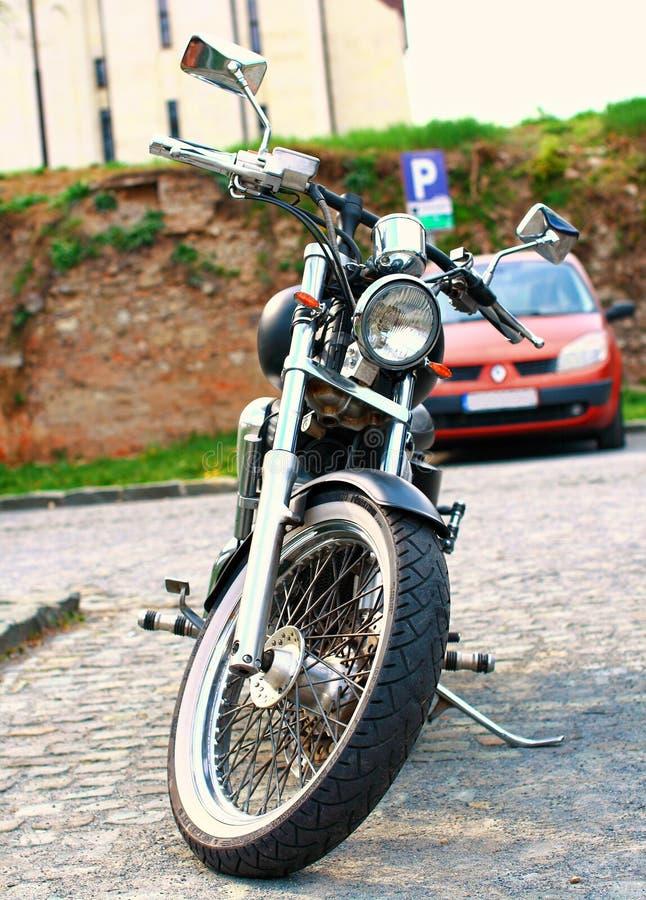 Siekacza motocykl obrazy stock