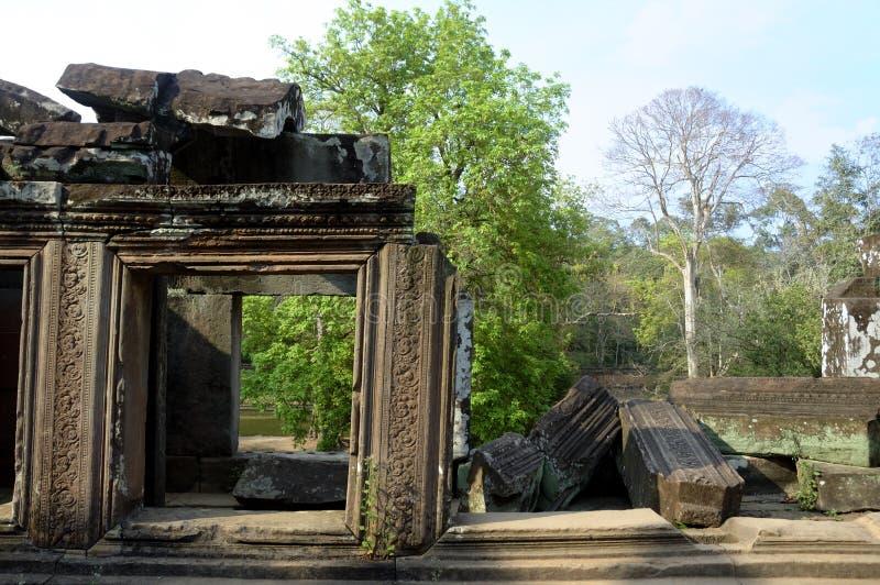 Siem oogst tempel royalty-vrije stock foto