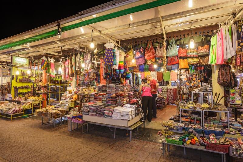Siem Przeprowadza żniwa noc rynek fotografia royalty free