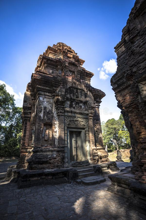 Siem Reap Angkor Wat Preah Ko UNESCO lizenzfreies stockfoto