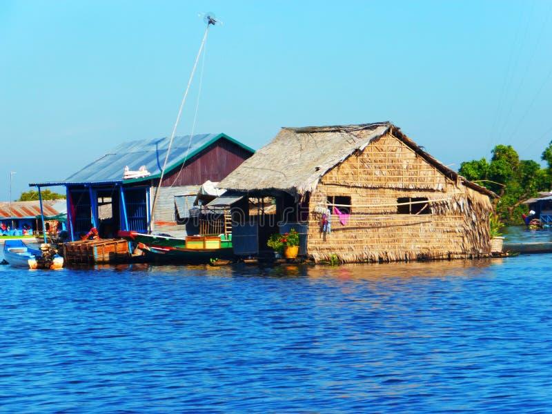 Siem Reap a Battambang/barco - expresse/Camboja imagem de stock royalty free