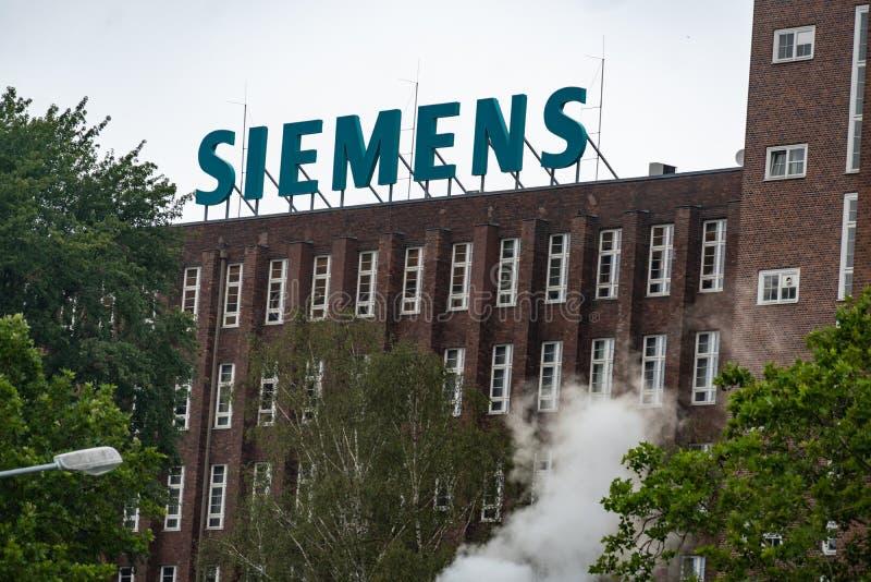 Siemens Dynamowerk em Berlim, Alemanha imagens de stock royalty free