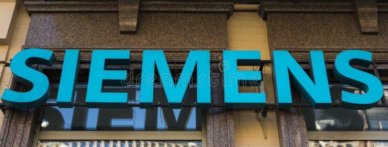 Siemens elektroniklager fotografering för bildbyråer