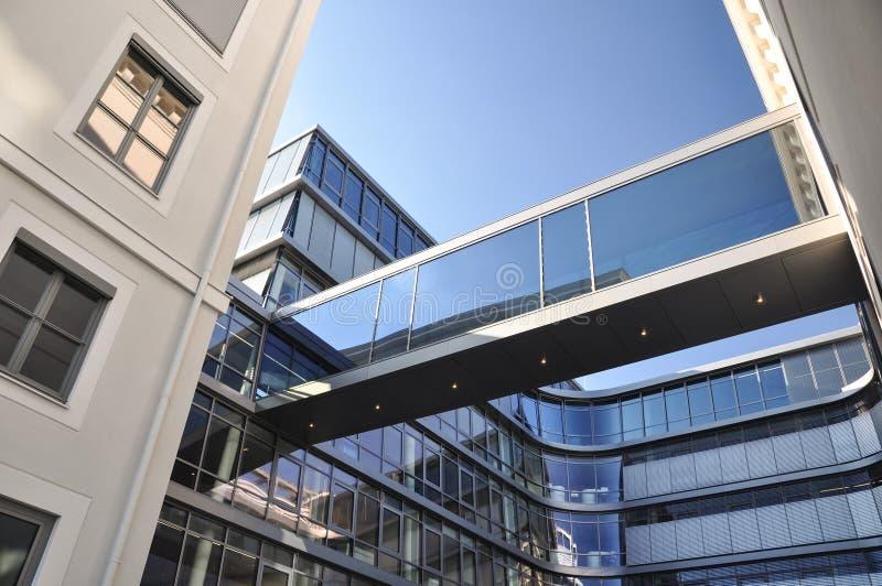 Siemens novo sedia a construção em Munich, Alemanha fotos de stock