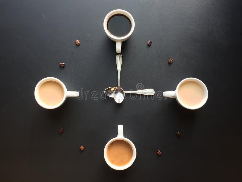 Siempre tiempo del café imagen de archivo libre de regalías