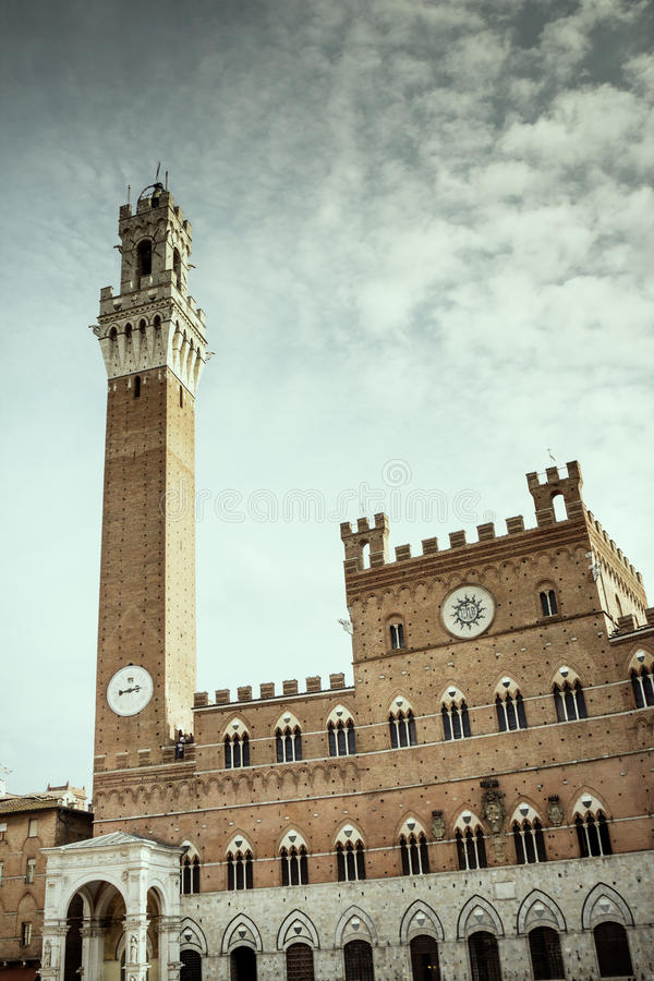Siena fotografia de stock royalty free