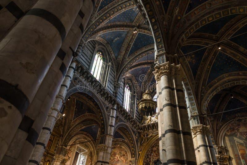 Siena& x27 ; cathédrale de s image libre de droits