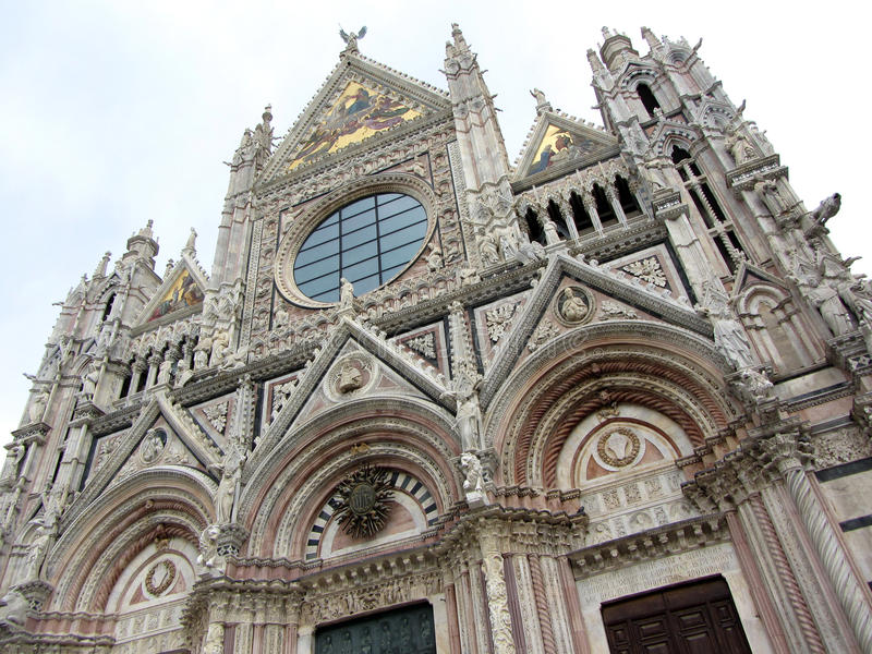 Download Siena Cathedral stock image. Image of architecture, landmark - 27395021