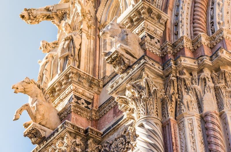 Siena Cathedral Or Duomo Di Siena Exterior, Tuscany, Italy ...