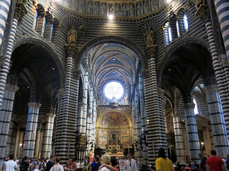 Siena Cathedral, Italia fotos de archivo libres de regalías