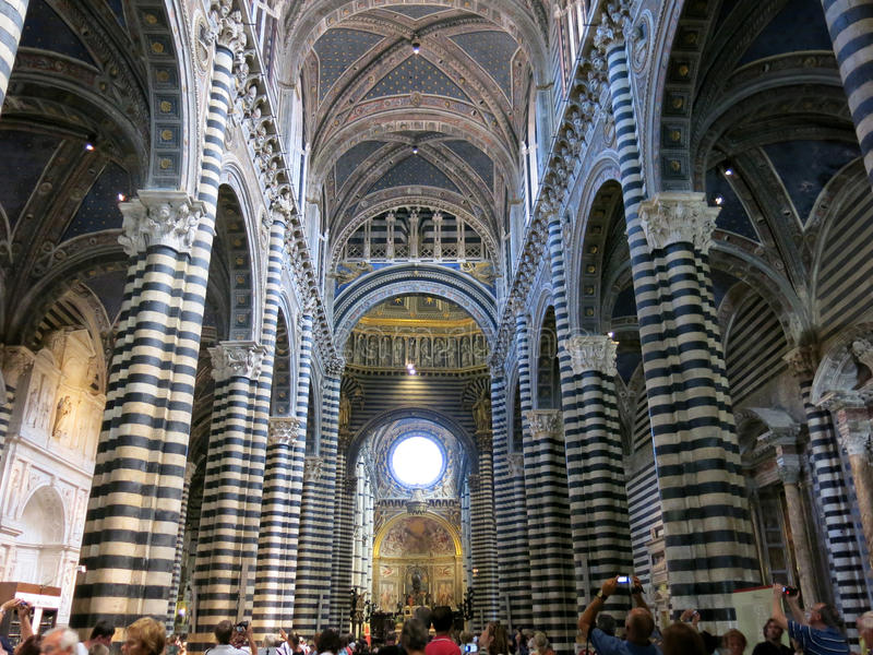 Siena Cathedral, Italy royalty free stock photography