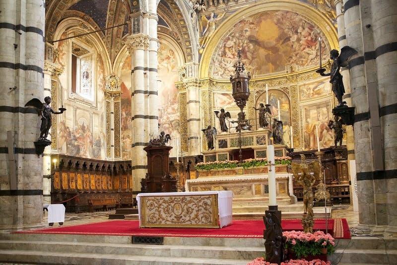 Siena Cathedral, Siena, Toscânia, Italia fotografia de stock