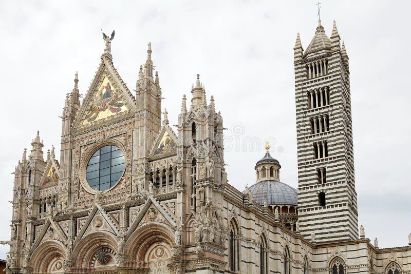 Siena Cathedral, Siena, Tuscany, italy stock image