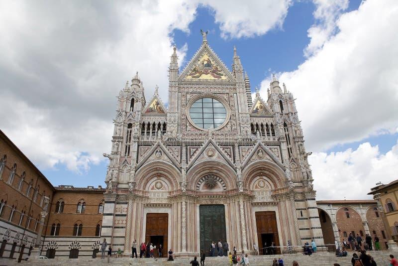 Siena Cathedral, Toscanië, Siena, Italië royalty-vrije stock fotografie