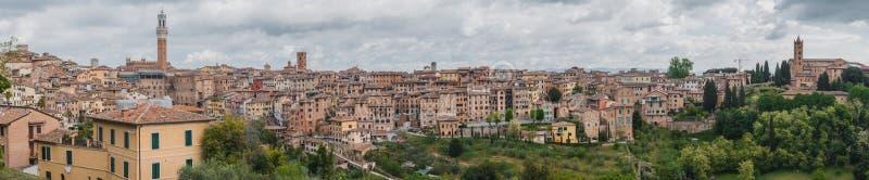 Siena city royalty free stock photos
