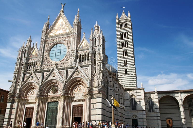 Siena Dome stock images