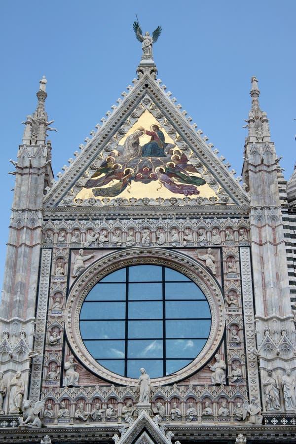 Siena Duomo #3 arkivfoto