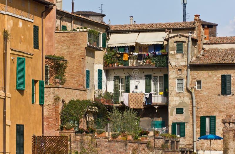 Siena Houses stock photos