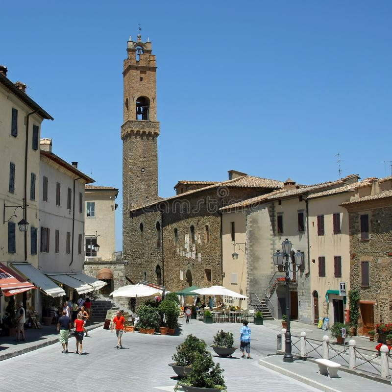 SIENA, ITÁLIA - relance de Siena, Toscânia imagens de stock royalty free
