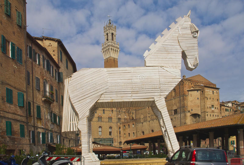 Siena Italië royalty-vrije stock afbeeldingen