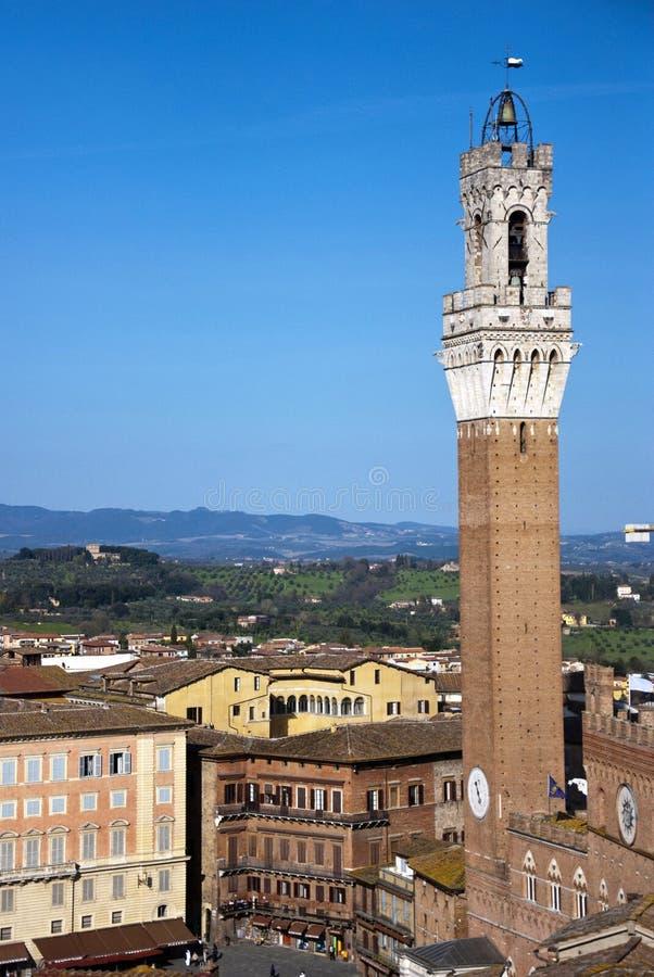 Siena Italien lizenzfreie stockbilder