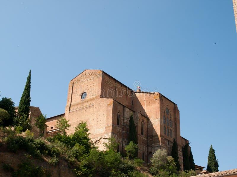 Siena-Italien lizenzfreie stockbilder