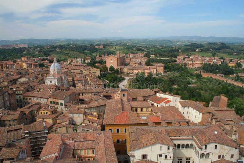 Siena, Italien lizenzfreie stockfotos