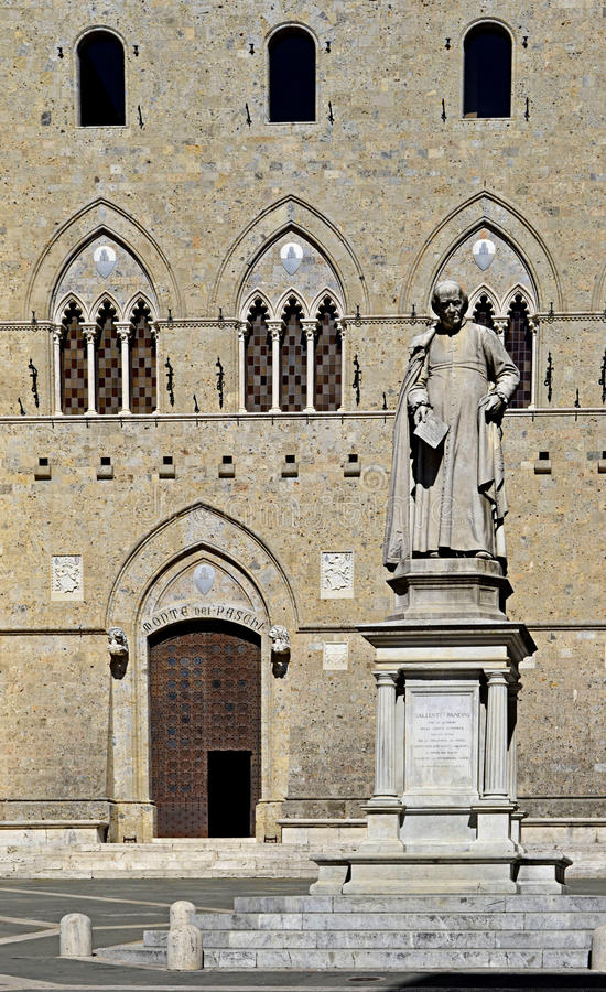 Siena in Italy royalty free stock photography