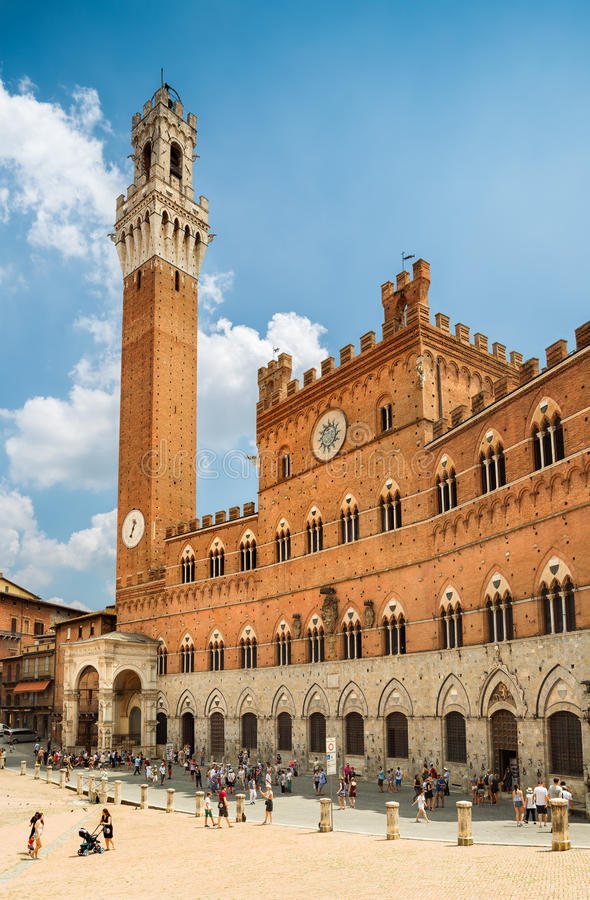 Siena, Italy. stock images